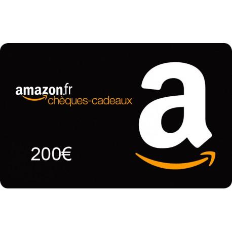 eChèque Cadeau Amazon 200€